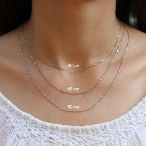 Lant argint 925, Corelle, cod TRSC017 + TRSC024 +TRSC025 +TRSC026
