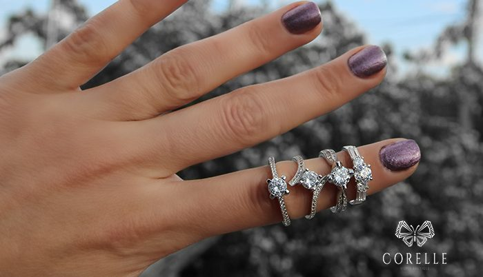 Inele de logodna din argint - Corelle - Blog