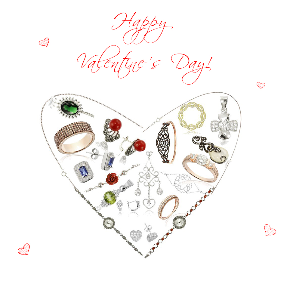 Valentine's Day Banner 2017 jewelry