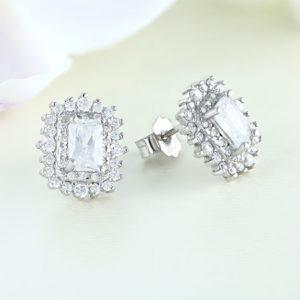 Cercei argint cu pietre - ICE0030