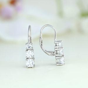 Cercei argint cu pietre - ICE0031