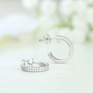 Cercei argint cu pietre - ICE0059