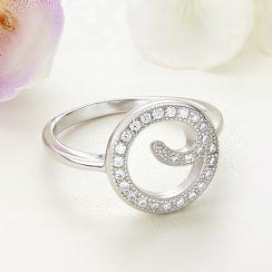 Inel argint cu pietre - ICR0101