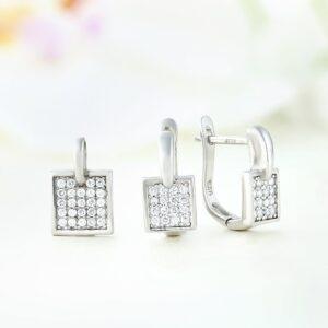 Set bijuterii argint cu pietre Neni - ICS0026