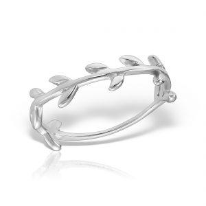 Inel argint subtire Crenguta - MCR0097