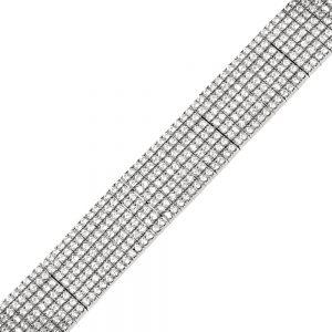 bratara tenis din argint 925 cod TRSB010