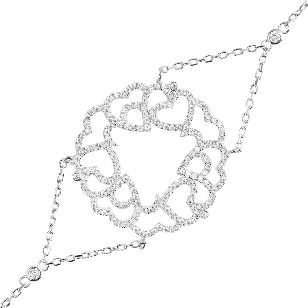 cadouri valentine's day 2017. bratara argint 925. trsb011
